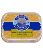Filets de sardines à l'huile d'olives